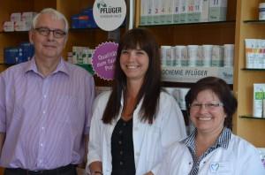 Dr Hein, Elisabeth Engemann-Wallmeier und Frau Risse